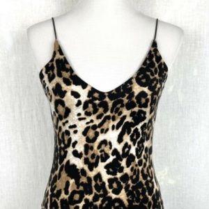 Gaze Leopard Print Body Suit